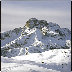 """View to the """"Hohe Gaisl"""""""