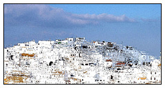 Vejer de la Frontera - abstraction