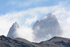 Argentina, Peaks from Left to Right: S (2335m), Rafaël (2482m) and Saint-Exupery (2558m)