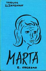 """""""Marta"""", Eliza Orzeszkowa"""