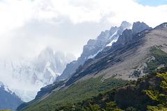 Argentina, Cerro Torre in the Clouds