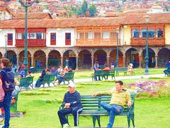 Cezanne in Cusco