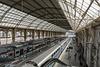 NICE; Gare SNCF; Vue depuis la nouvelle passerelle 06