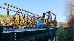 Brückendemontage 17