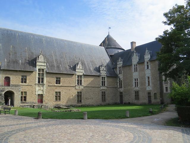 Laval : le Vieux Château.