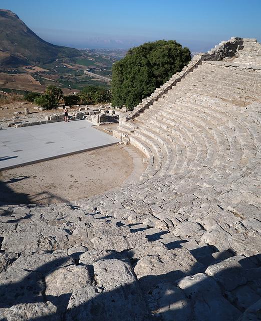 Greek amphitheatre, Segesta