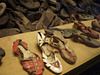 Shoes of the victims of gas chambers.