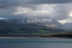 Snowdonia showing why it got its name