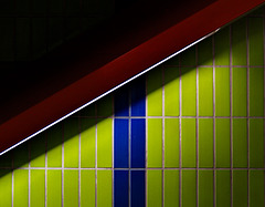 Diagonale rauf