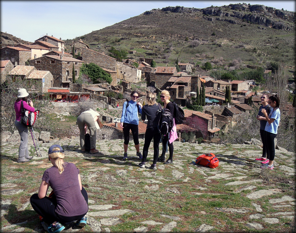 Patones de Ariba, Hiking Madrid, March, 2015