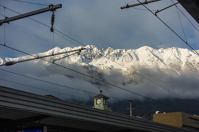 Ankunft Innsbruck