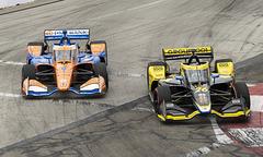 Turn 6 Overtake - Acura Grand Prix of Long Beach