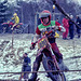 Cresting a hill - Boxing Day Scramble 1982 - 8b