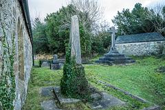 The cross on Church Island
