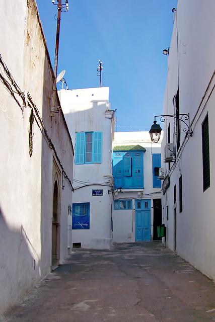 Tunisi : una via del souk
