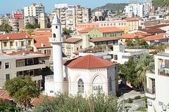 Albania, Vlorë, Neshat Pasha Mosque (Red Mosque)