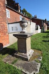 Saint Michael's Churchyard, Peasenhall, Suffolk