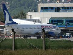 Boeing 737-8F2/W TC-JFD (Anadolu Jet)