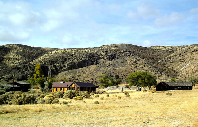 Remnants of Camp Tulelake, northern site.