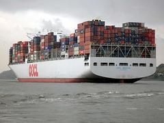 Containergigant OOCL BANGKOK