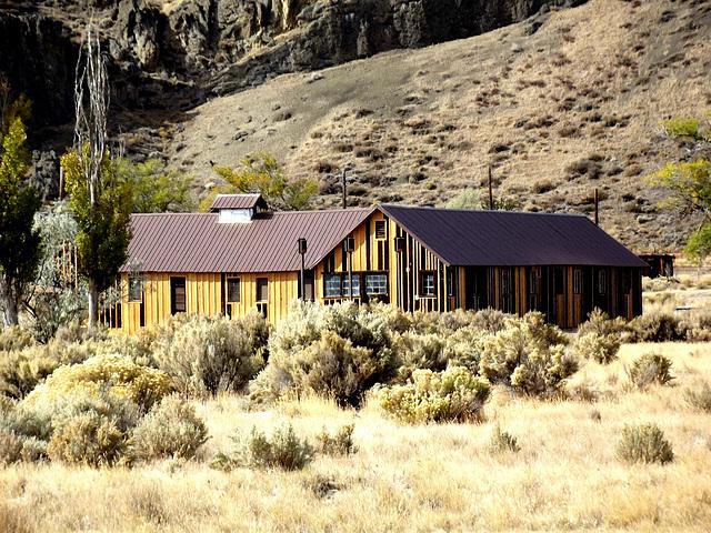 Camp Tulelake building