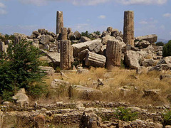 Ruins of Greek temple (6th century BC).