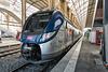NICE; Gare SNCF; Vue depuis la nouvelle passerelle 09