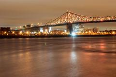 Canada - Montréal - Jacques-Cartier bridge