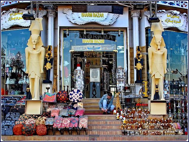 SHARM EL-SHEIK : Shopping al Sharm Bazar - di tutto e di più !