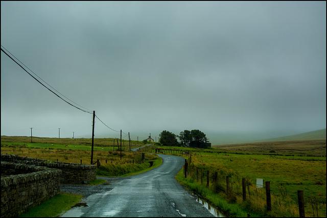 Rain,  Fog and Fences - HFF!