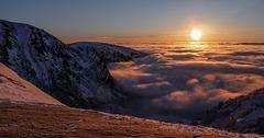 lever de soleil au Hohneck (1363m)