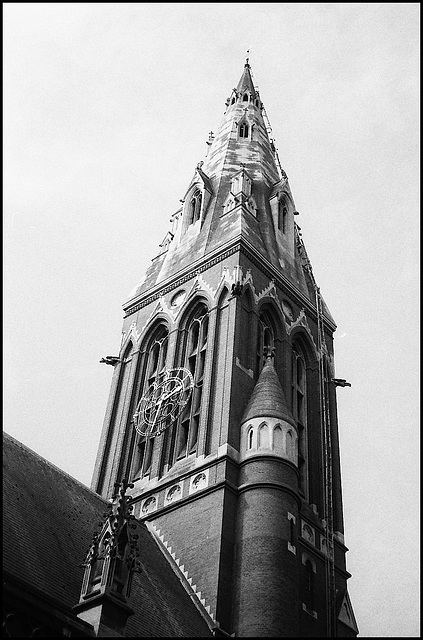 Tower. St John the Divine, Kennington.