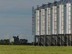 Grain storage in Heronton