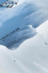 Schneegrat beim Gornergrat (© Buelipix)