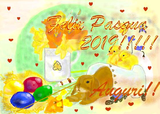 Felix Pasqua 2019!!!!!