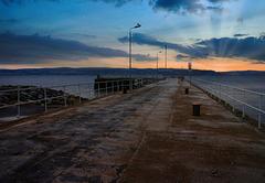 Helensburgh Pier at Dawn