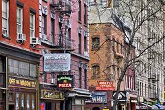 Greenwich Village – Macdougal Street near Minetta Lane, New York, New York