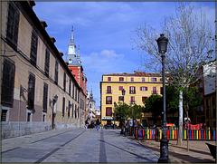 HFF!! Plaza de Las Comendadoras, Malasana, Madrid
