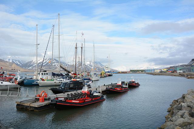 Norway, Svalbard, The Port of Longyearbyen Harbour