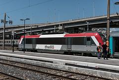 NICE; Gare SNCF; Vue depuis la nouvelle passerelle 10