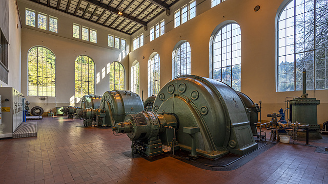 HPP Arnstein - turbine hall