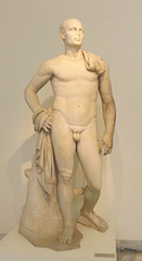 The Pseudo-Athlete of Delos in the National Archaeological Museum of Athens, May 2014