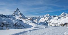 Winterwanderwg zwischen Rotenboden und Riffelberg (© Buelipix)