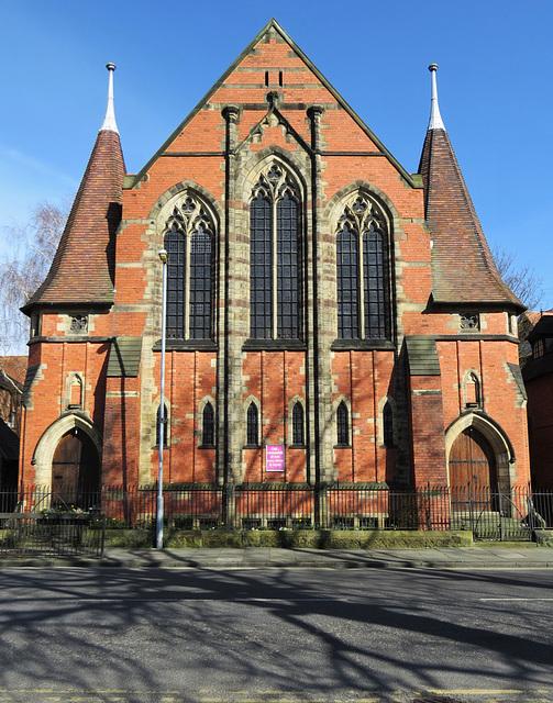 baptist chapel, chester