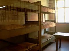 Bunk beds of Auschwitz.