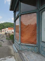 Rare!, orange tarpaulin.