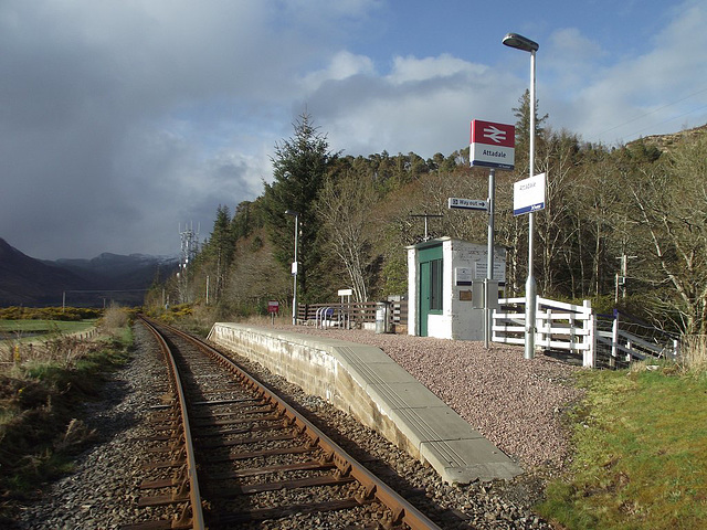 Renovated Attadale station