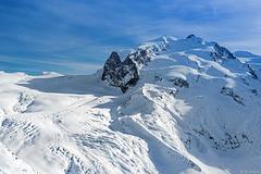 Monte Rosa - 4634 Meter über NN (© Buelipix)