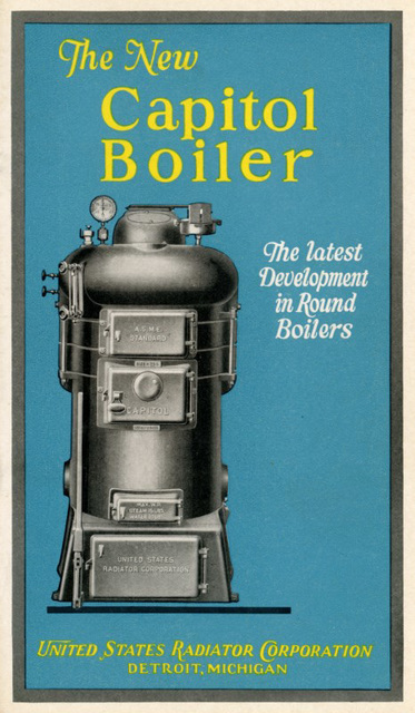 The New Capitol Boiler: The Latest Development in Round Boilers, 1928