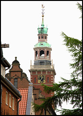 Rathausturm in Leer, Ostfriesland